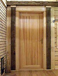 Как сделать дверь входную в баню