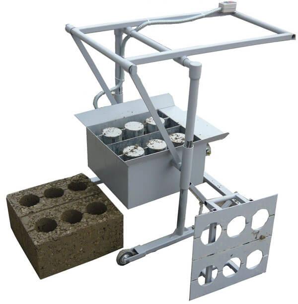 Производства блоков своими руками