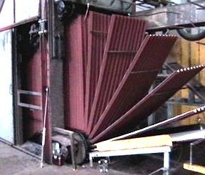 Производство ондулина на заводе (фото)