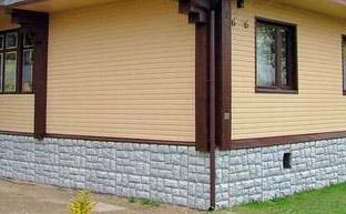 Наружная отделка брусовых стен сайдингом (фото)