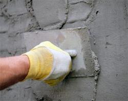 Наружная штукатурка кирпичных стен