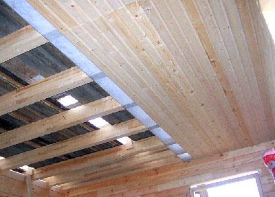 Как сделать потолок в парилке фото 136