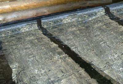 Гидроизоляция бетонного пола рубероидом по слою утеплителя (фото)
