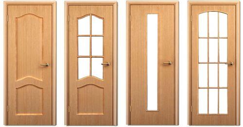 Разные модели филенчатых дверей (фото)
